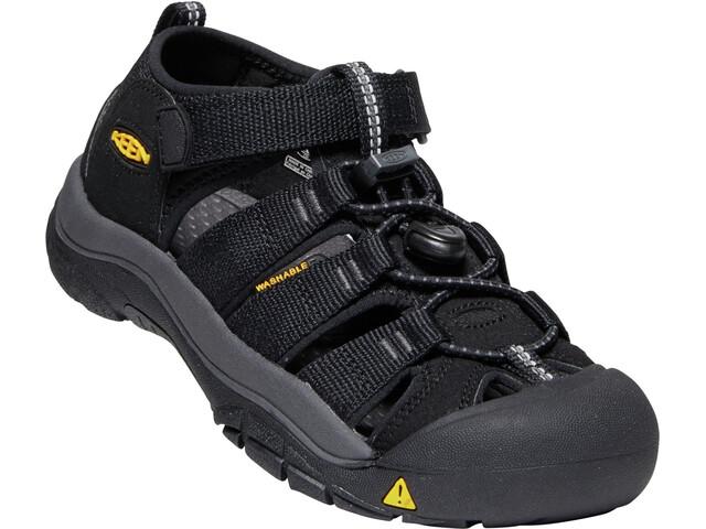 Keen Newport H2 Sandals Youth black/keen yellow